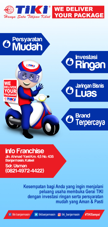 FLYER FRANCHISE TIKI BANJARMASIN